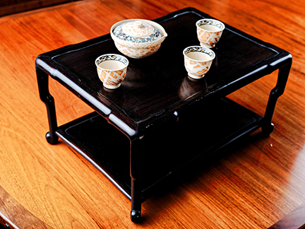 Japanese tea table. C. 2016 NyghtFalcon
